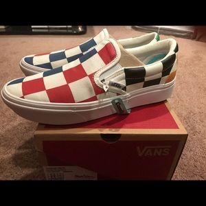 Vans ComfyCush Slip-On Shoes Mens 5/ Womens 6.5